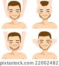 facial, man, massage 22002482