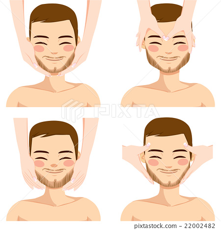 Man Facial Massage 22002482