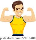 Muscular Man Biceps 22002488