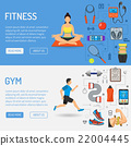 fitness, gym, vector 22004445