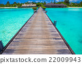 Beautiful tropical view of perfect ideal island 22009943
