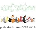 狗 各种各样 姿势 22015616