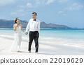 新郎 海灘 新娘 22019629