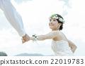 肖像 結婚了的 結婚 22019783