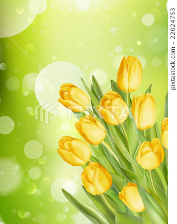 Bouquet of tulips. EPS 10 22024753