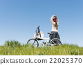 自行車 腳踏車 騎自行車 22025370