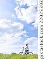 自行車 腳踏車 騎自行車 22025393