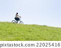自行車 腳踏車 騎自行車 22025416