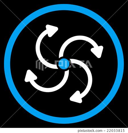 Fan Rotation Icon 22033815