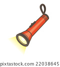 lights, flashlight, vector 22038645