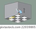 Escape Room Game Concept.  22039865