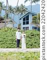 新郎 度假風格的婚禮 度假村婚禮 22042420