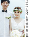 新郎 度假风格的婚礼 度假村婚礼 22042441