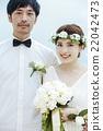 新郎 度假风格的婚礼 度假村婚礼 22042473