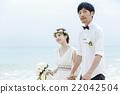 新郎 結婚了的 結婚 22042504