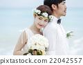 新郎 結婚了的 結婚 22042557