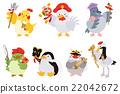 七福神 鳥兒 鳥 22042672