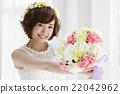 婚禮 新娘 花束 22042962