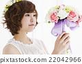 婚禮 花束 新娘 22042966