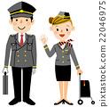 Various work Pilot and Stewardess 22046975