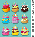 birthday, cake, vector 22050620