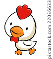 Chicken Character is running.  Asian Zodiac Mascot 22056633
