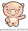 Pig Character. Asian Zodiac Character Design 22056729