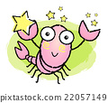 Vector Cartoon Scorpio Character. Scorpius Mascot 22057149