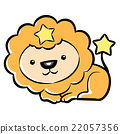 Cartoon Style Leo Mascot. Lion Constellation  22057356