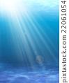 빛이 비치는 얕은 바다 22061054