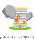 คอนโด,ภัยพิบัติ,ไฟ 22061816