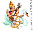 Sarasvati, Hindu goddess 22062746