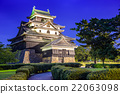 Mastue Castle in Japan 22063098