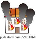 화재, 집, 건물 22064060
