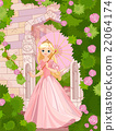 Beautiful Princess at Summer Day 22064174