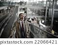 businessman, thinking, terminal 22066421