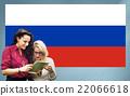 Russia Flag Patriotism Russian Pride Unity Concept 22066618