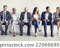 Business People Meeting Corporate Digital Device Connection Conc 22066690