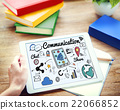 Communication Connection Social Network Concept 22066852