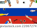 Russia Flag Patriotism Russian Pride Unity Concept 22067274