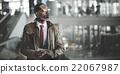 businessman, terminal, device 22067987