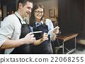Barista Breaking Service Partner Concept 22068255