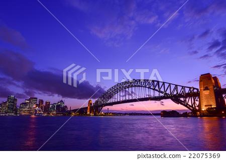Sydney Harbor Bridge in Australia Sydney 22075369