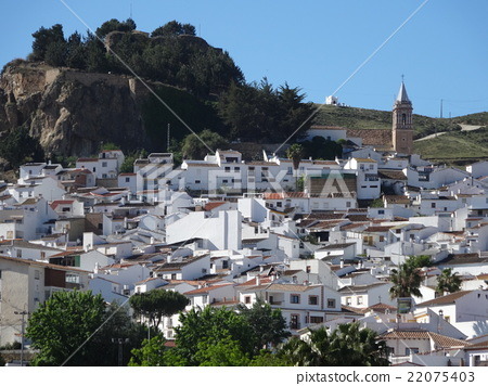 A white village in Andalusia Ardales 22075403