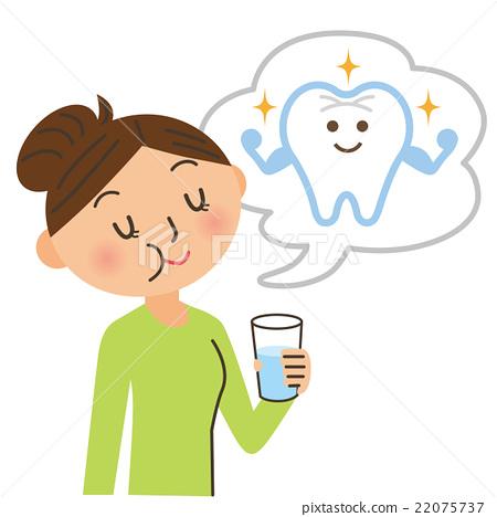 预防 牙齿保健 女生 22075737