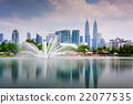 Kuala Lumpur Park Skyline 22077535