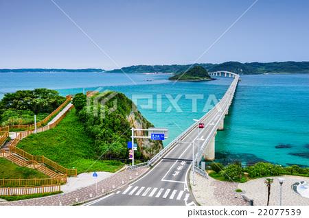 Tsunoshima Bridge in Japan 22077539