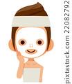 female, lady, woman 22082792