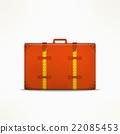Travel case sign. Traveling design element 22085453