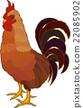 chicken, chinese, zodiac 22085902